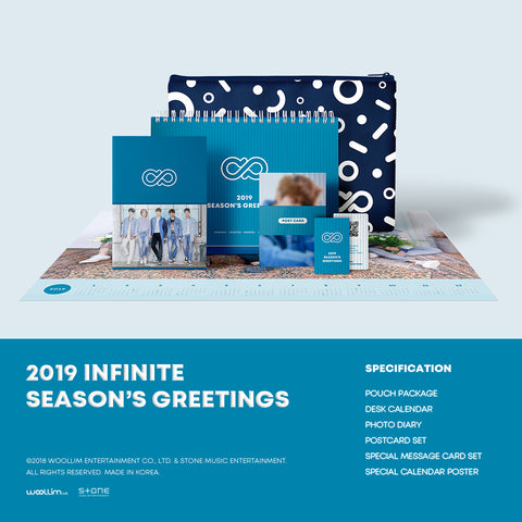 INFINITE '2019 SEASON'S GREETINGS'