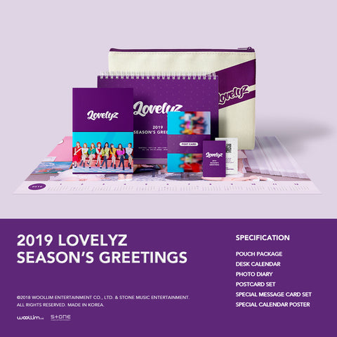 LOVELYZ '2019 SEASON'S GREETINGS'