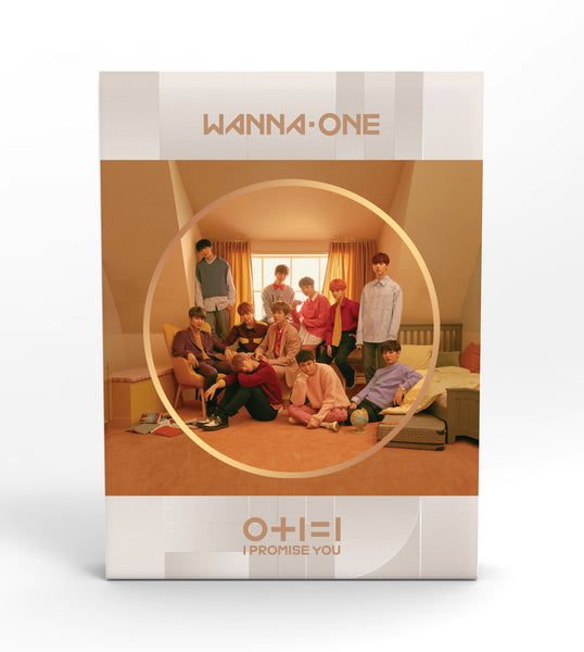 WANNA ONE 2ND MINI ALBUM 'I PROMISE YOU' + POSTER