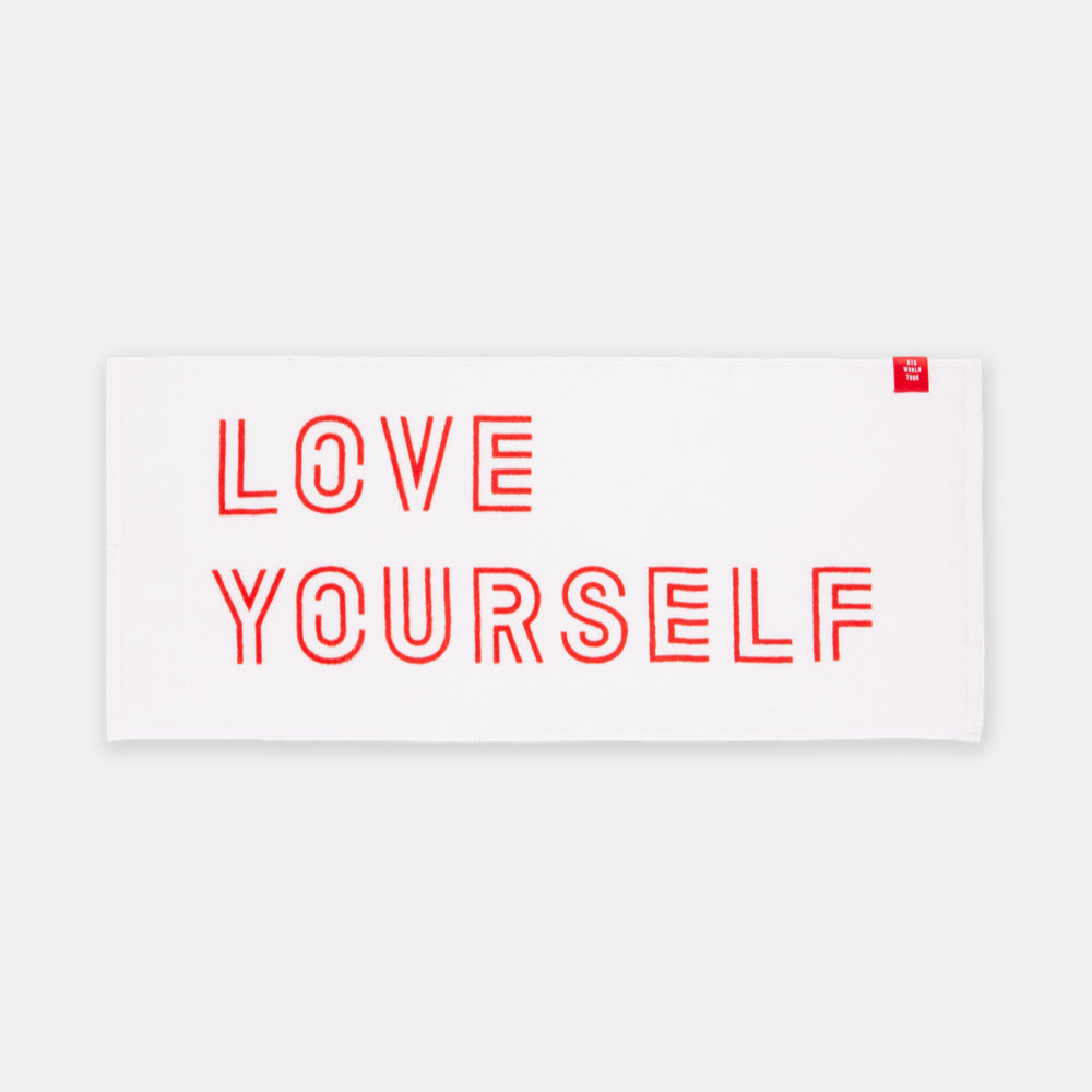 BTS 'LOVE YOURSELF OFFICIAL SOLGAN TOWEL'