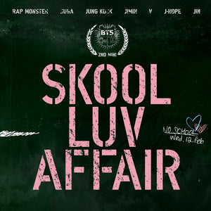 BTS 2ND MINI ALBUM 'SKOOL LUV AFFAIR'