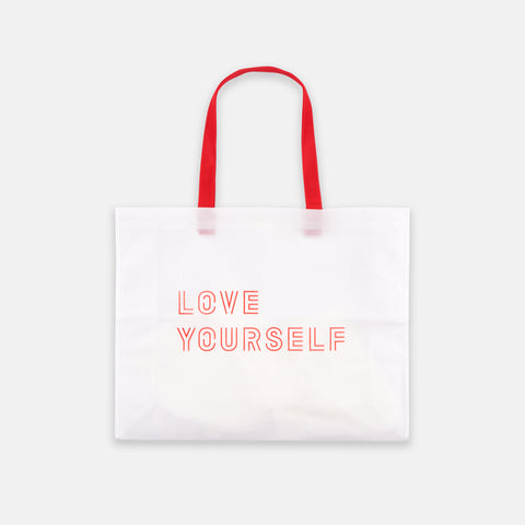 BTS 'LOVE YOURSELF OFFICIAL SHOPPER BAG'