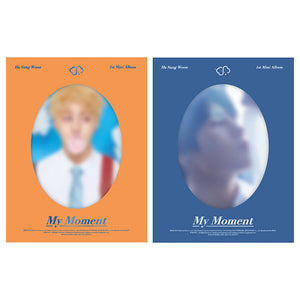 HA SUNG WOON (WANNA ONE) MINI ALBUM 'MY MOMENT' + POSTER