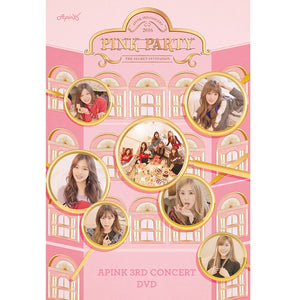 APINK 3RD CONCERT 'PINK PARTY' DVD (2 Disc)