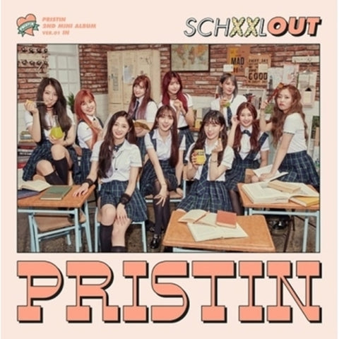 PRISTIN 2ND MINI ALBUM 'SCHXXL OUT'