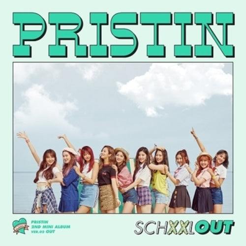 PRISTIN 2ND MINI ALBUM 'SCHXXL OUT' + POSTER