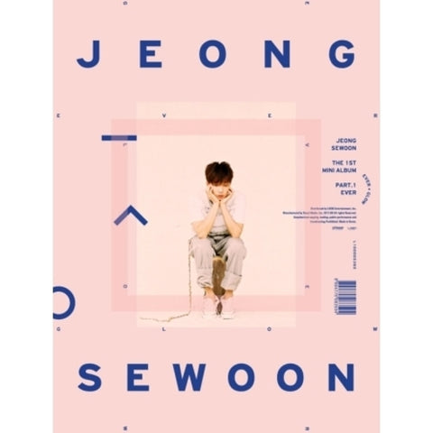 JEONG SEWOON 1ST MINI ALBUM PART.1 'EVER'