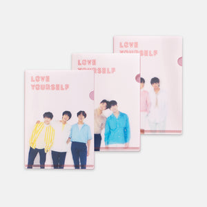 BTS 'LOVE YOURSELF OFFICIAL LENTICULAR L-HOLDER SET'