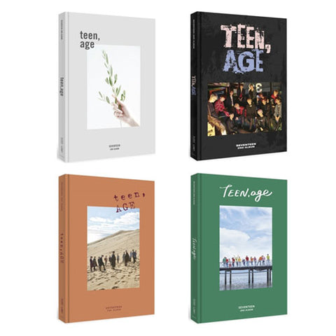 SEVENTEEN 2ND ALBUM 'TEEN, AGE' + POSTER