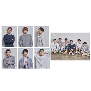 JBJ 'DEBUT SHOWCASE POSTER SET' (7 SHEETS)