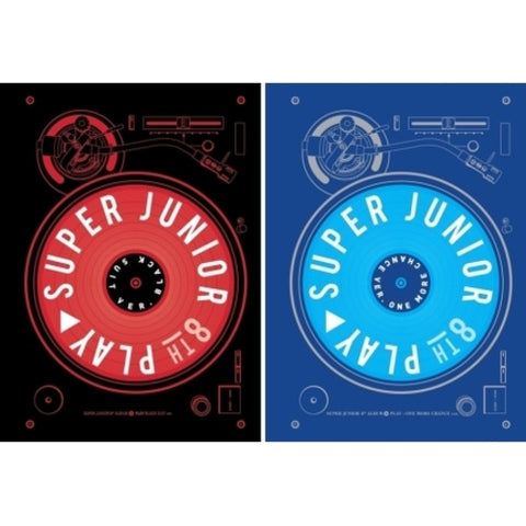 SUPER JUNIOR 8TH ALBUM 'PLAY'