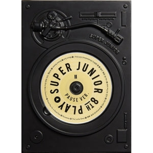 SUPER JUNIOR 8TH ALBUM 'PLAY PAUSE VER' + POSTER
