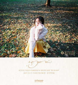 SOYOU THE 1ST SOLO ALBUM 'PART.1 RE:BORN' + POSTER