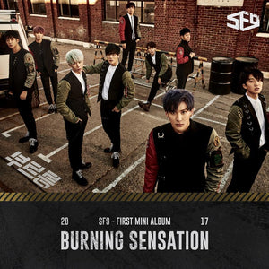 SF9 1ST MINI ALBUM 'BURNING SENSATION'