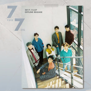 GOT7 '7 FOR 7 PRESENT EDITION' + POSTER