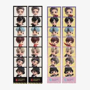 BTS TINYTAN 7 CUT-PHOTO STICKER