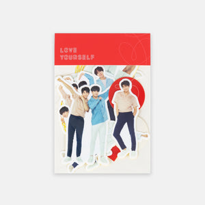 BTS 'LOVE YOURSELF OFFICIAL DECO STICKER SET'