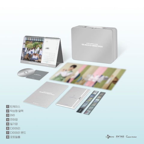 WANNA ONE '2019 SEASON'S GREETINGS + BEHIND BOOK'