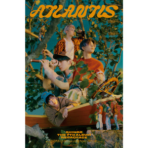 SHINEE 7TH ALBUM REPACKAGE 'ATLANTIS' POSTER ONLY