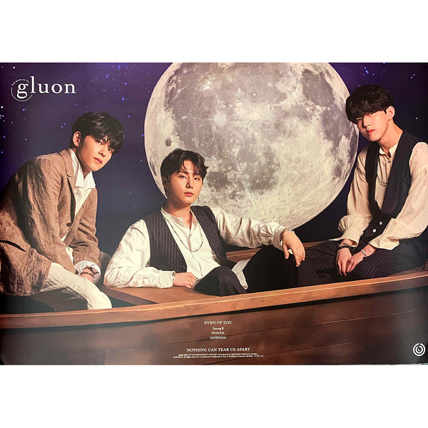 DAY6 (EVEN OF DAY) 1ST MINI ALBUM 'THE BOOK OF US : GLUON' POSTER ONLY
