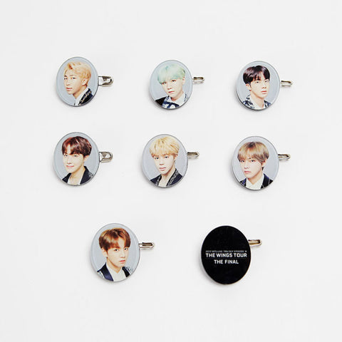 BTS 'THE WINGS TOUR FINAL' ACRYLIC BADGE SET
