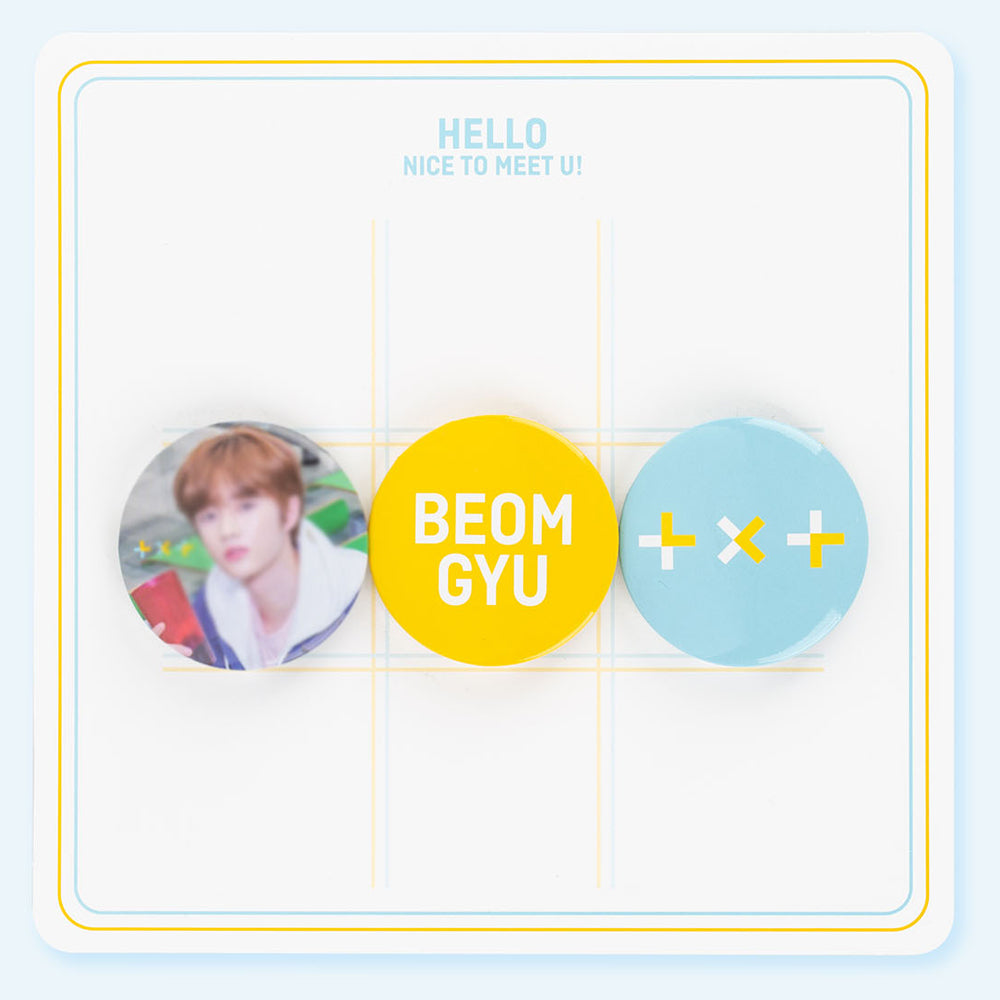 TOMORROW X TOGETHER (TXT) OFFICIAL DEBUT MD BADGE SET