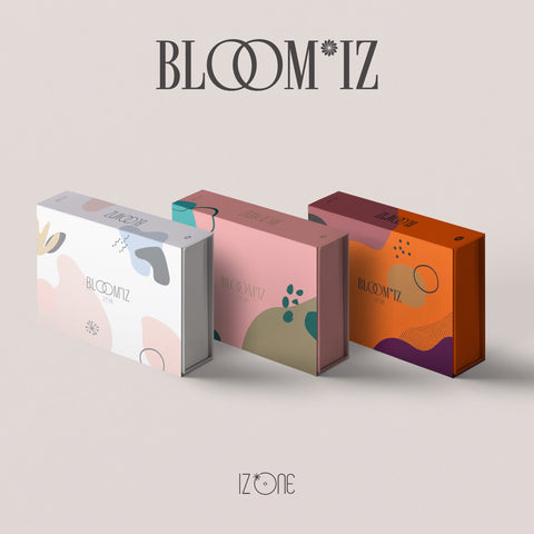 IZ*ONE 1ST ALBUM 'BLOOM*IZ' + POSTER