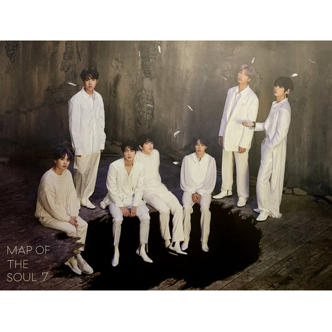 BTS 4TH ALBUM 'MAP OF THE SOUL : 7' POSTER ONLY