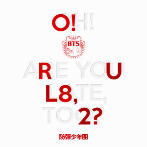 BTS 1ST MINI ALBUM 'O! RUL8 ,2?'