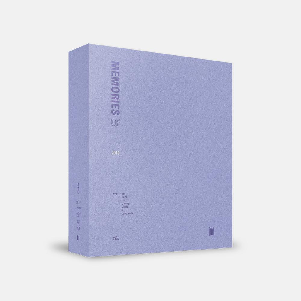 BTS 'MEMORIES OF 2018' DVD