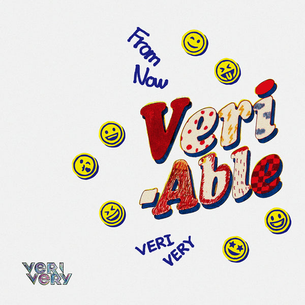 VERIVERY 2ND MINI ALBUM 'VERI-ABLE' + POSTER