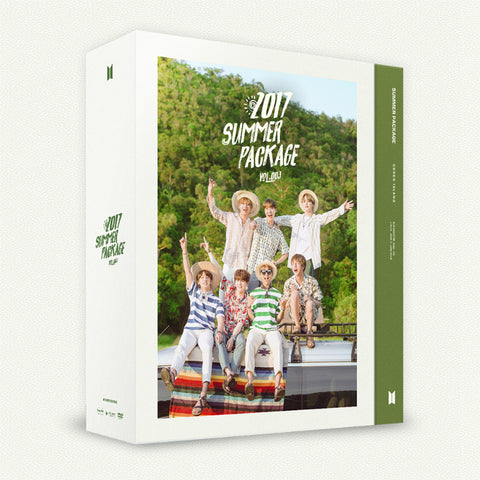 BTS 2017 'SUMMER PACKAGE VOL.3' PHOTO BOOK