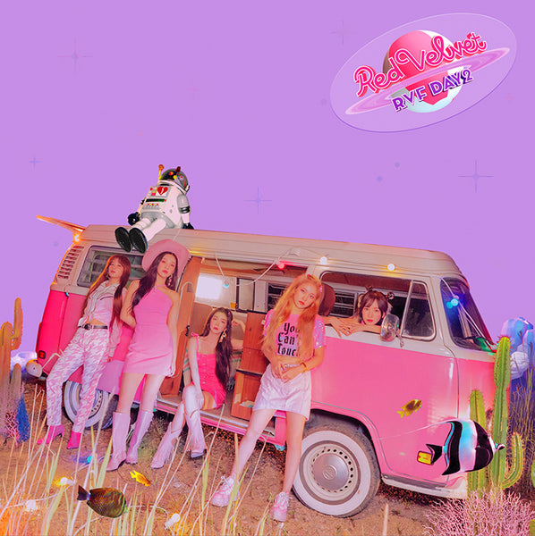 RED VELVET 7TH MINI ALBUM 'THE REVE FESTIVAL DAY 2' + POSTER