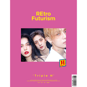 TRIPLE H 2ND MINI ALBUM 'RETRO FUTURISM' + POSTER