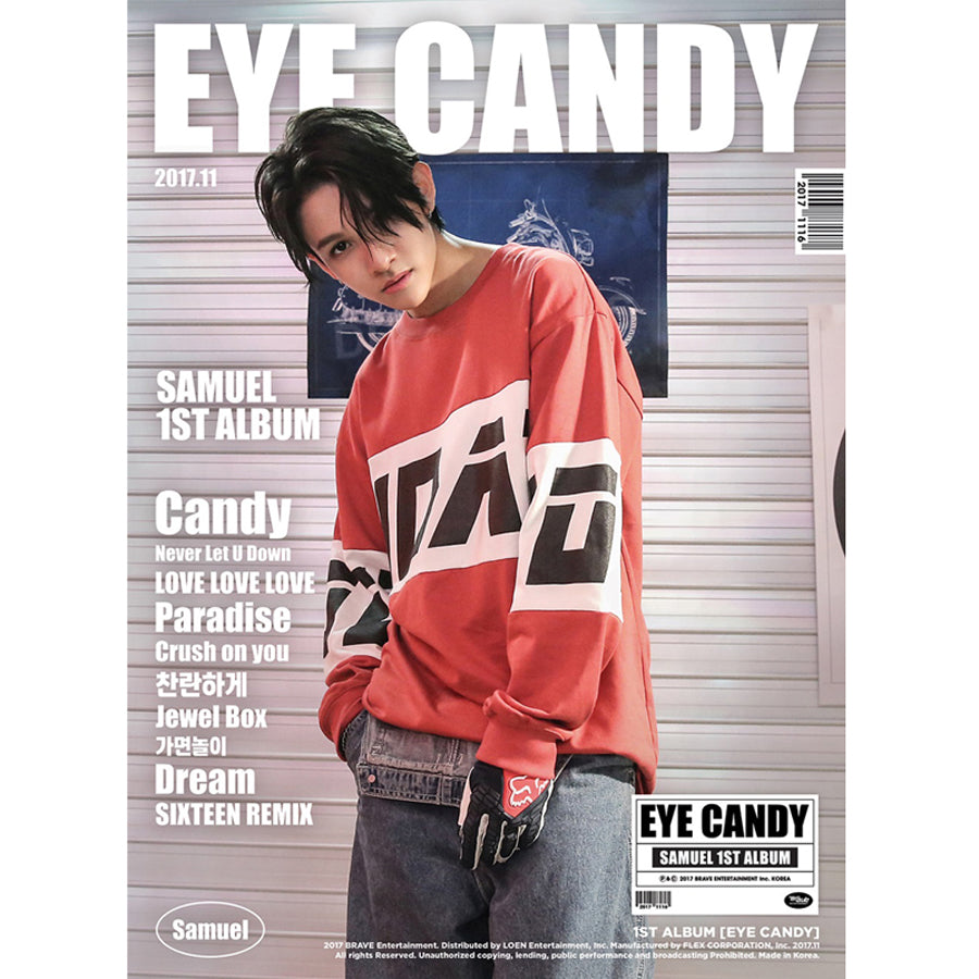 SAMUEL 1ST ALBUM 'EYE CANDY' + POSTER