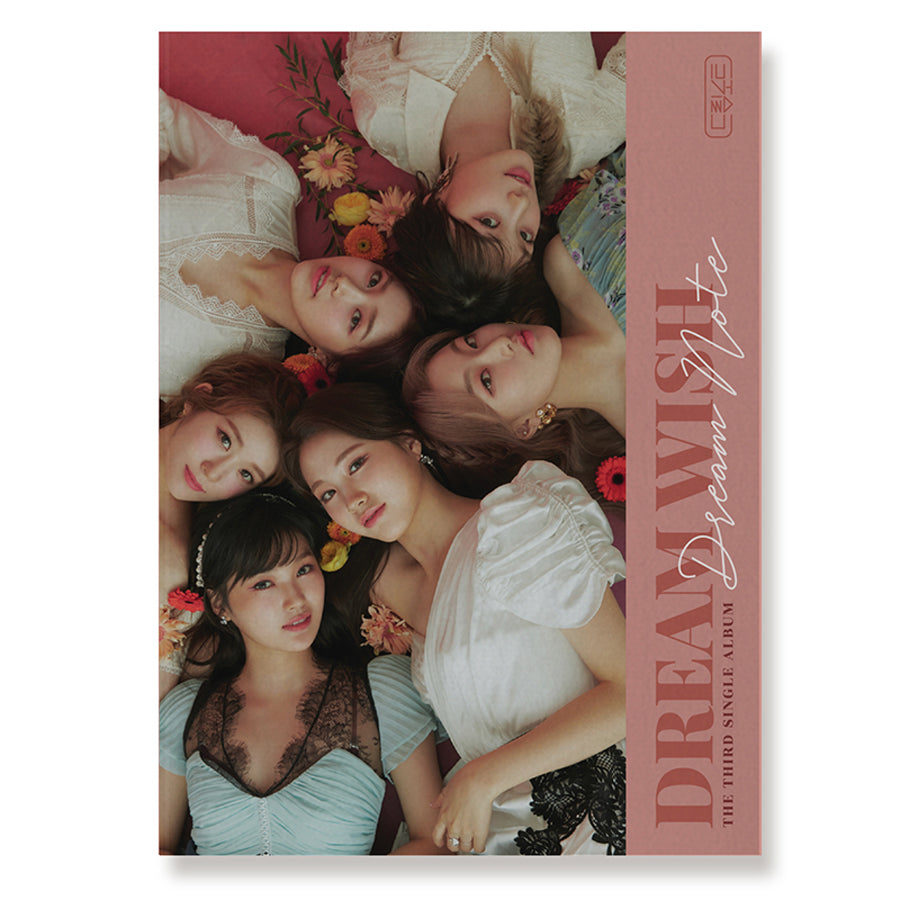 DREAMNOTE 3RD SINGLE ALBUM 'DREAMWISH' + POSTER