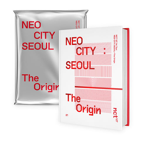 NCT 127 'NEO CITY : SEOUL - THE ORIGIN' 1ST TOUR CONCERT PHOTO BOOK + LIVE ALBUM