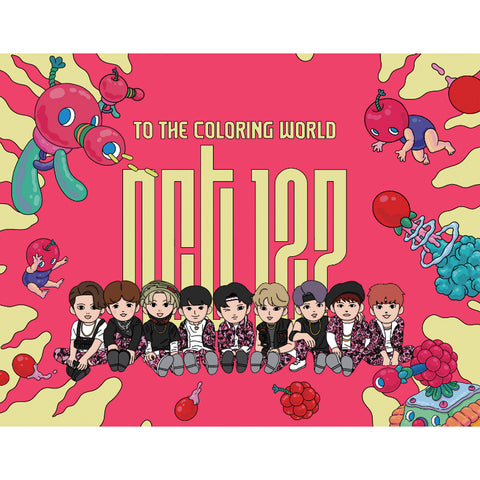 NCT 127 'TO THE COLORING WORLD! NCT 127' COLORING PAPER BOOK