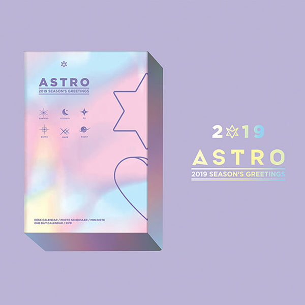 ASTRO '2019 SEASON'S GREETINGS'