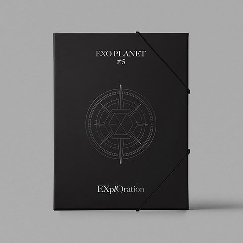 EXO 'EXO PLANET #5 - EXPLORATION' CONCERT PHOTO BOOK & LIVE ALBUM