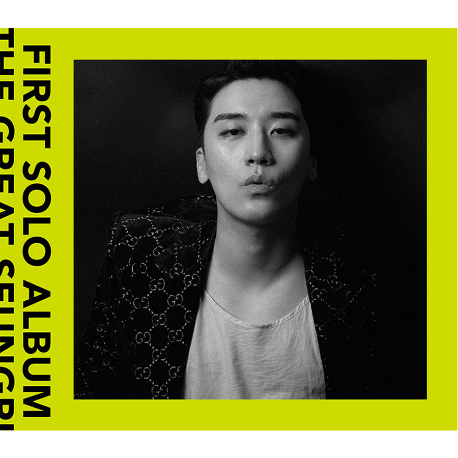 BIGBANG SEUNGRI 1ST SOLO ALBUM 'THE GREAT SEUNGRI'