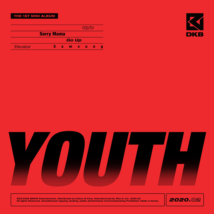 DKB 1ST MINI ALBUM 'YOUTH'