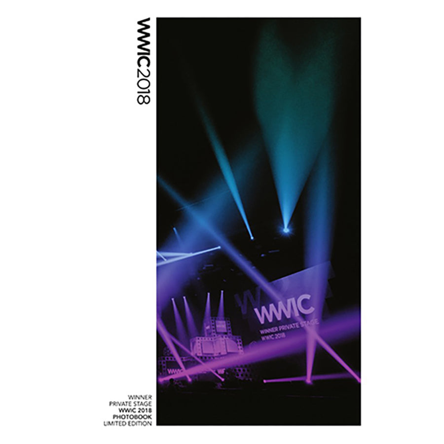 WINNER LIMITED EDITION 'PRIVATE STAGE WWIC 2018 PHOTO BOOK'