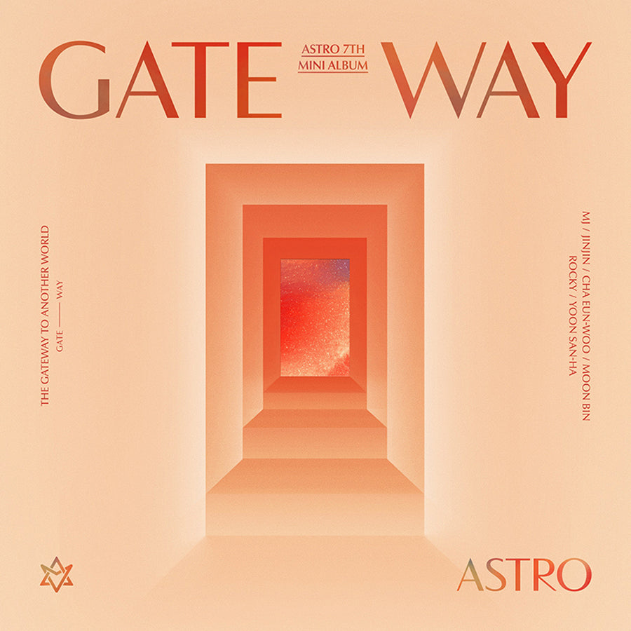 ASTRO 7TH MINI ALBUM 'GATEWAY' + POSTER