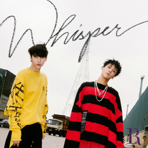 VIXX LR 2ND MINI ALBUM 'WHISPER' + POSTER