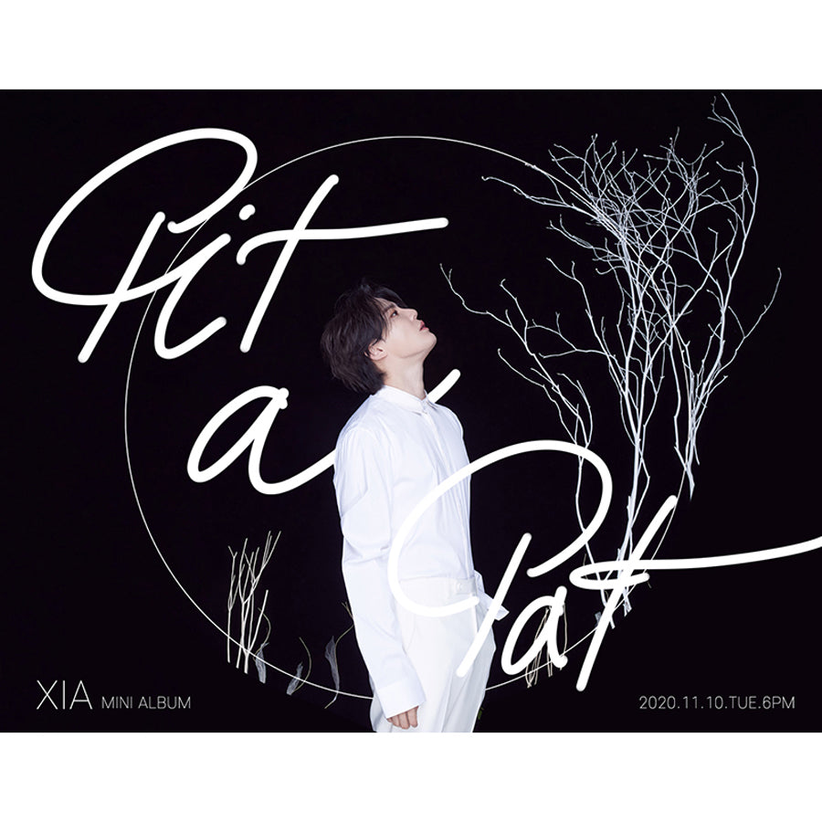 XIA 2ND MINI ALBUM 'PIT A PAT'