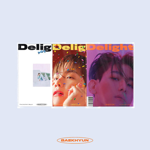 BAEK HYUN (EXO) 2ND MINI ALBUM 'DELIGHT' + POSTER