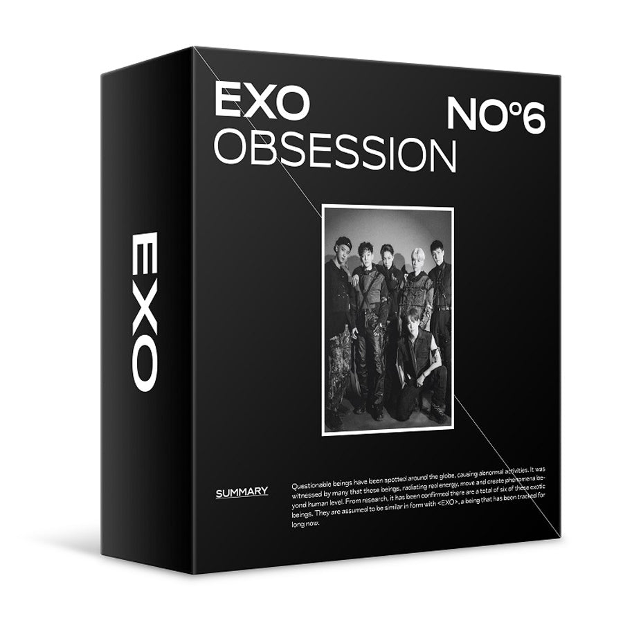 EXO 6TH ALBUM 'OBSESSION' KIHNO