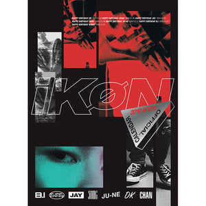 iKON 2019 OFFICIAL CALDENDAR
