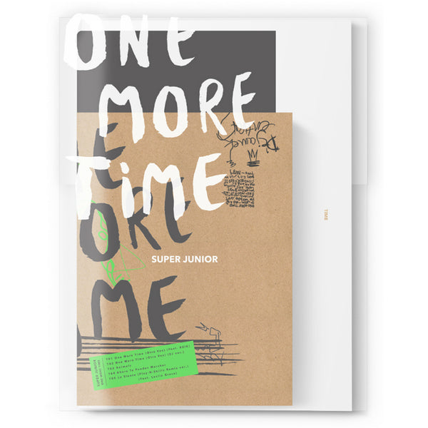 SUPER JUNIOR SPECIAL MINI ALBUM 'ONE MORE TIME'